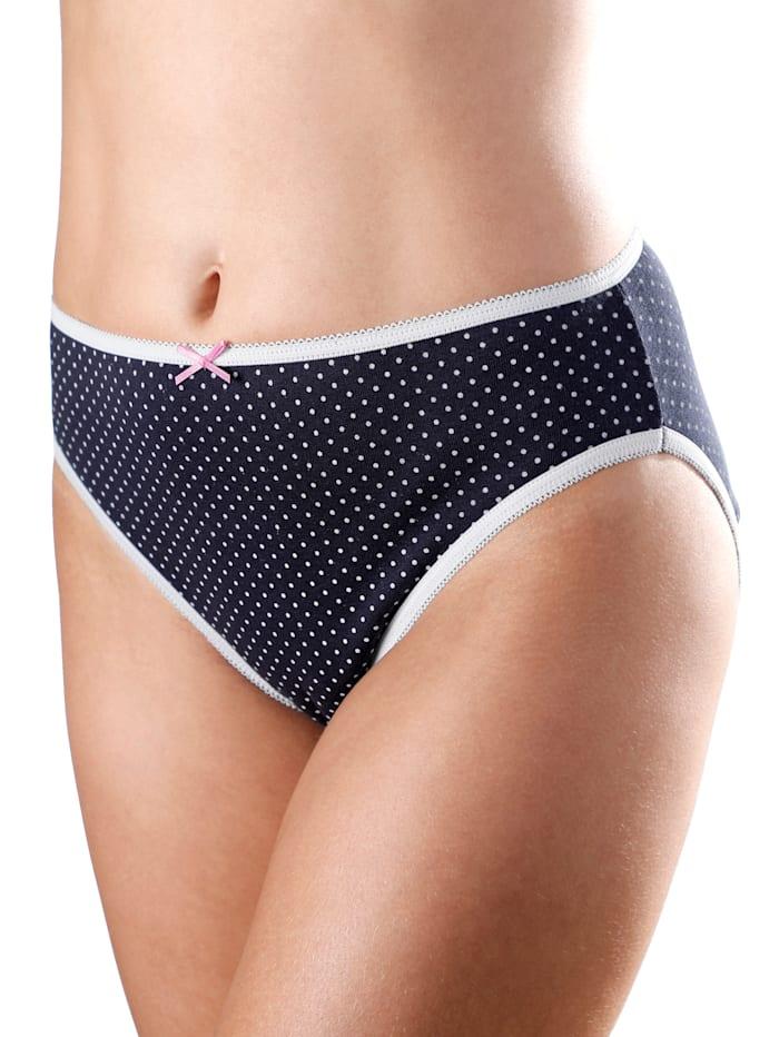 Kalhotky s módním puntíkovým vzorem 5 kusů