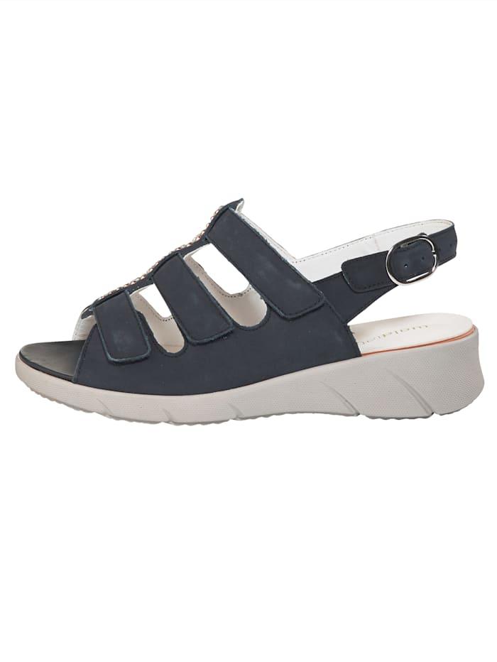 Sandaaltje met steentjesversiering