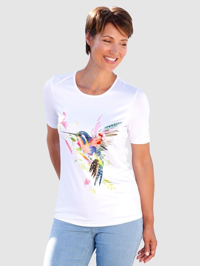 Paola Shirt met print, Wit