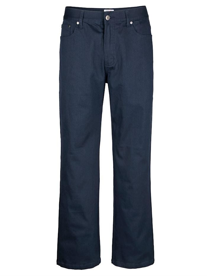 Pantalon 5 poches en matière stretch