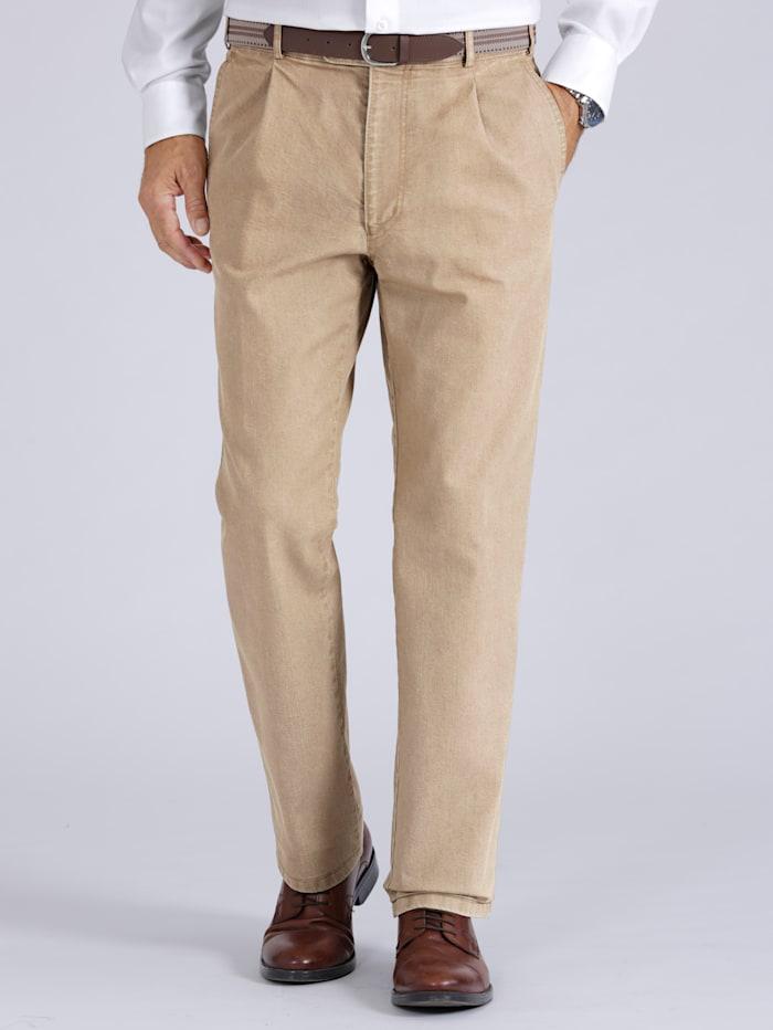 BABISTA Jeans met riem, Beige