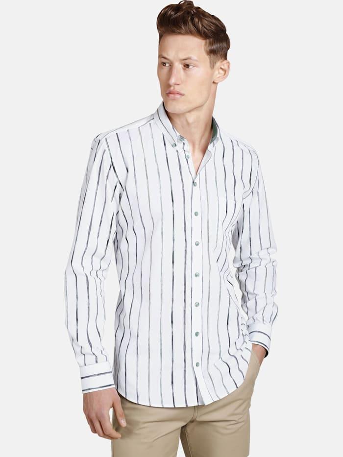 Shirtmaster Shirtmaster Hemd thepainter, weiß