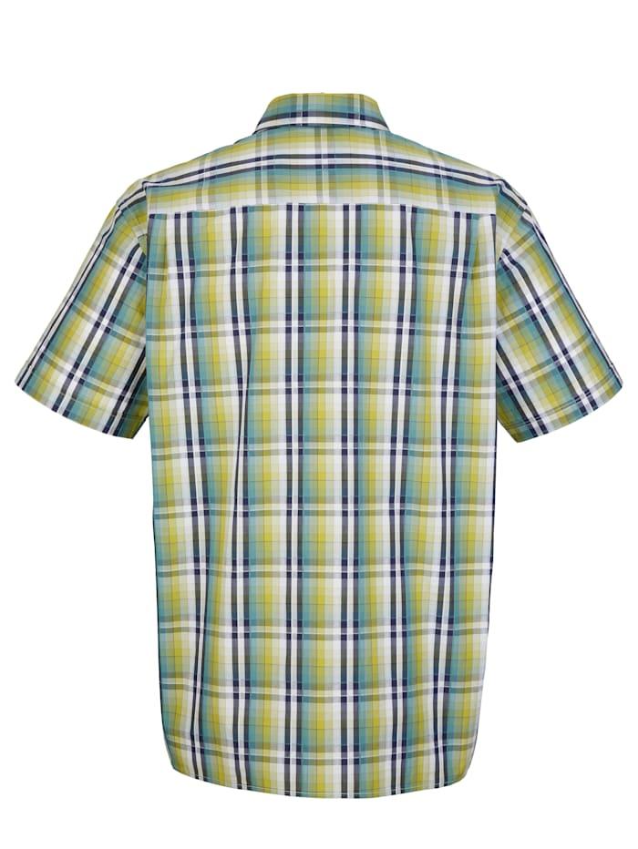 Overhemd van seersucker materiaal