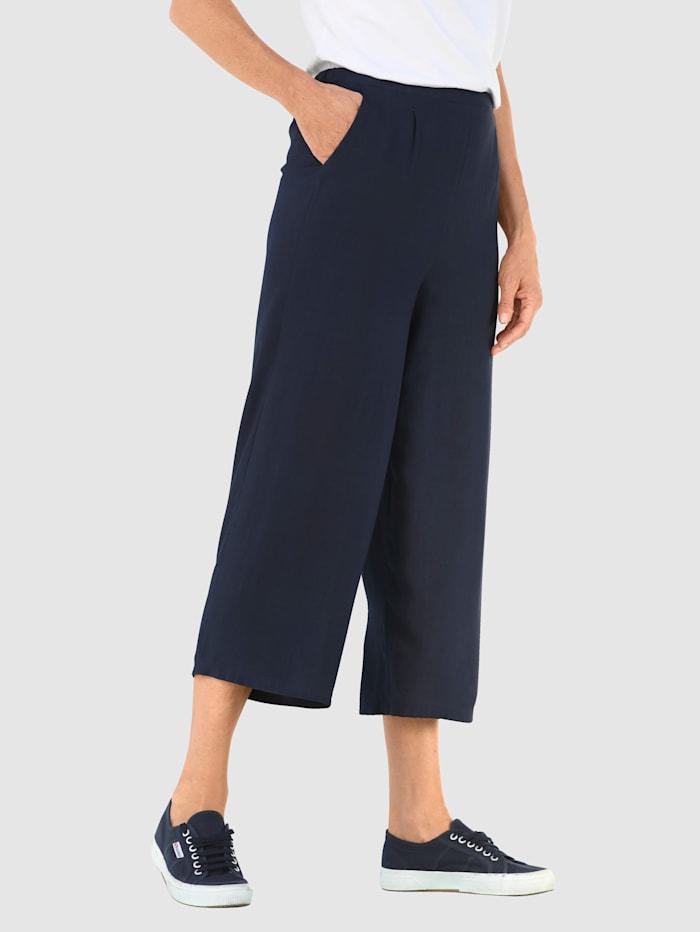 Dress In Culotte mit Eingrifftaschen, Marineblau