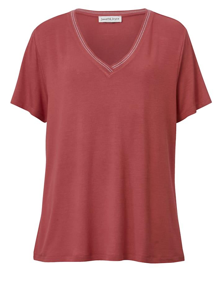 T-shirt à fil métallisé