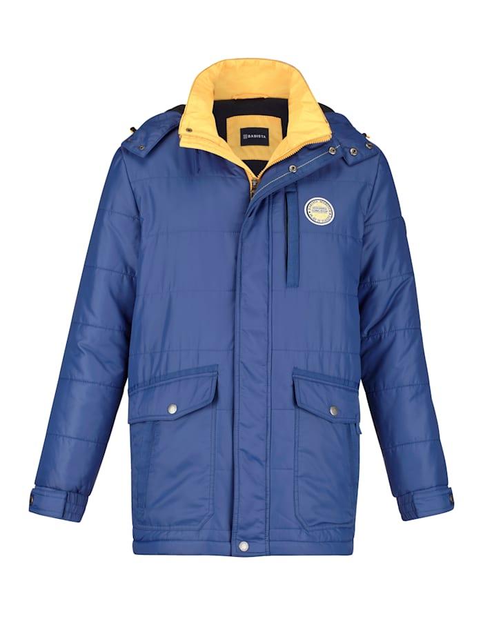BABISTA Longjacke mit vielen praktischen Taschen, Royalblau
