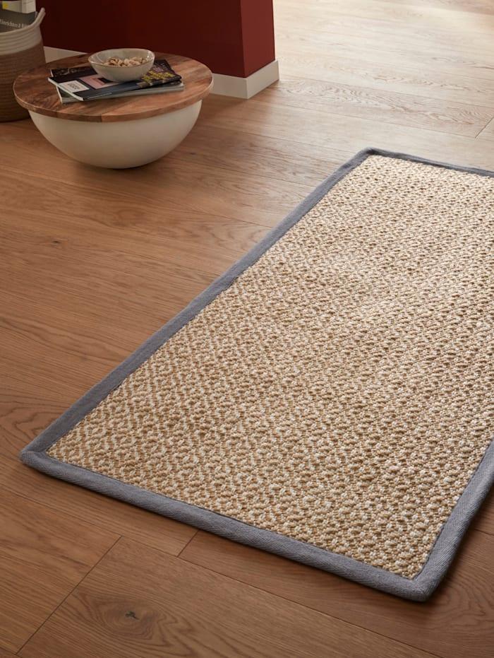 Webschatz Tkaný koberec Ringo, Prírodná biela