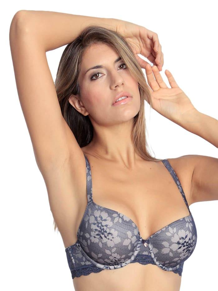 sassa Schalen BH mit Bügel Bloomy Lace, midnight