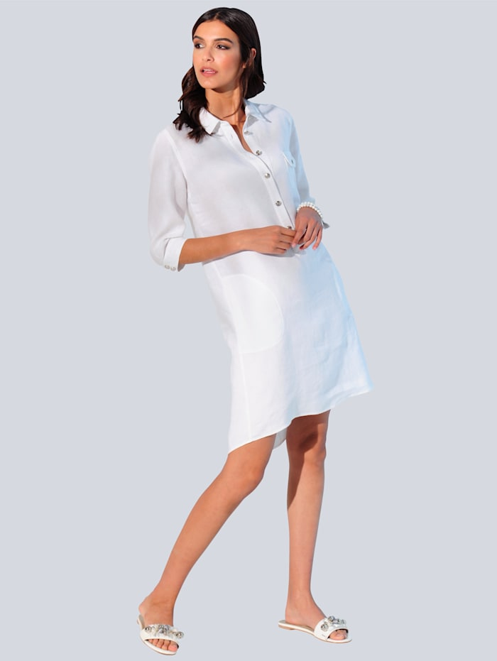 Šaty z hodnotnej ľanovej kvality