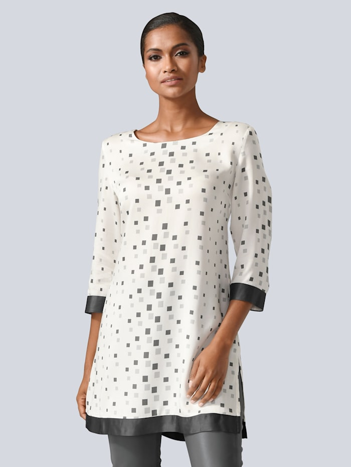 Bluse mit Alba Moda exklusivem Print