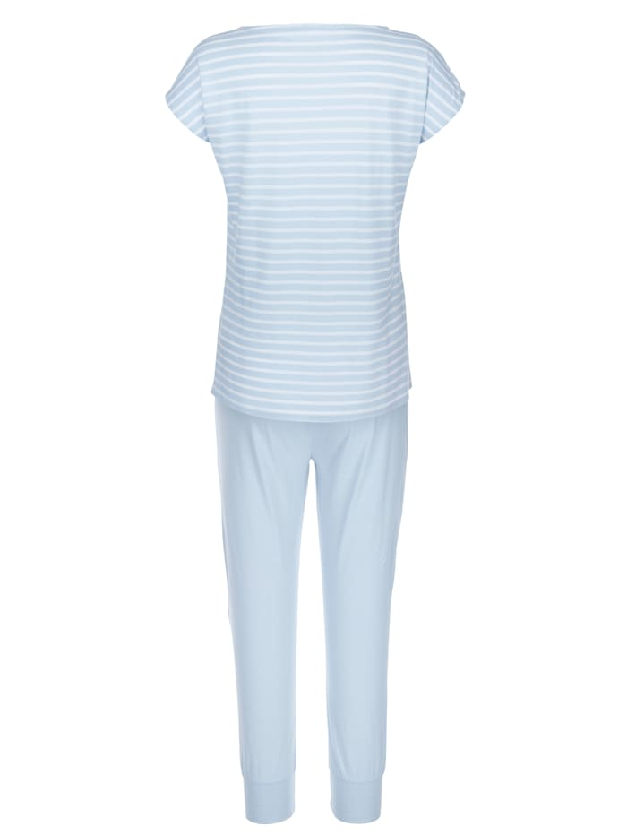 Pyjamas with lace detailing