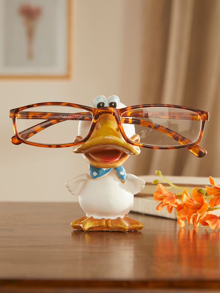 Brillenhalter Ente, mehrfarbig