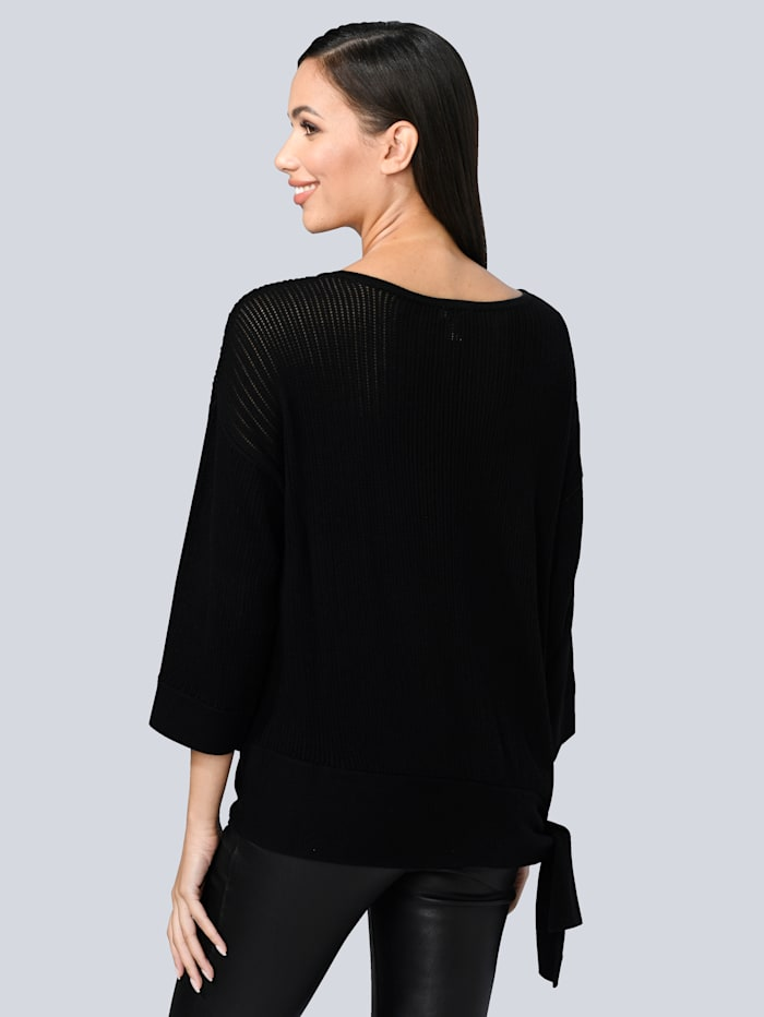 Pullover mit Knotensaum