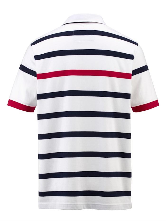 Poloshirt met overhemdkraag