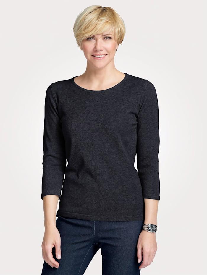 MONA Pullover in Traumhaft-Qualität, Marineblau
