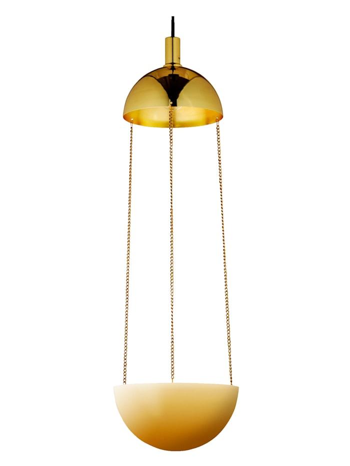 MARKSLÖJD Lampe pot de fleurs, Coloris or