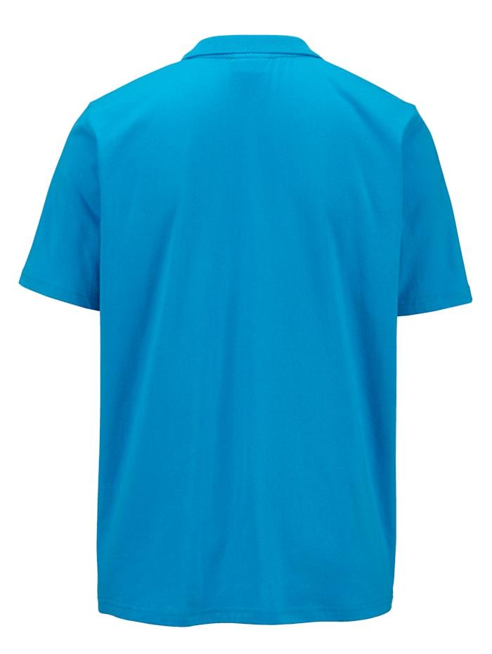 Poloshirt met print voor