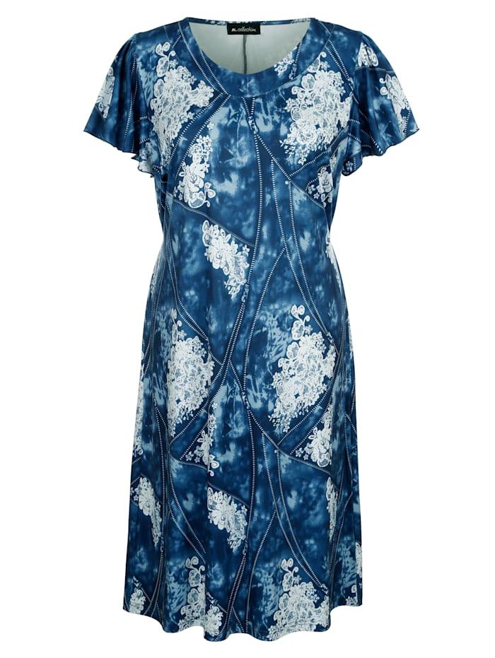 Jerseykleid mit sommerlichem Druck