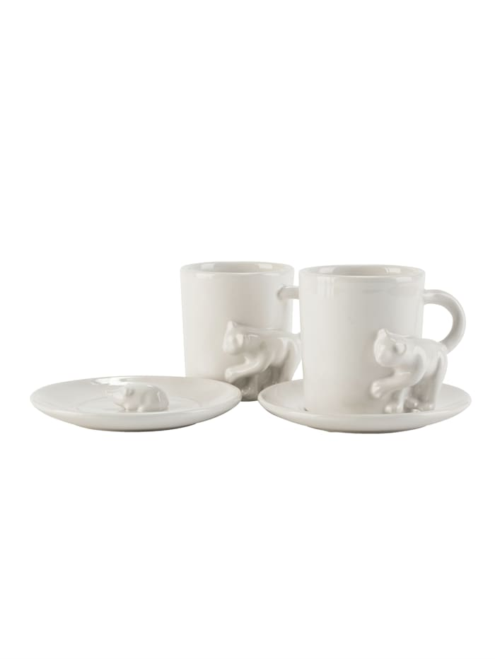 Kaffeebecher-Set, 2-tlg.