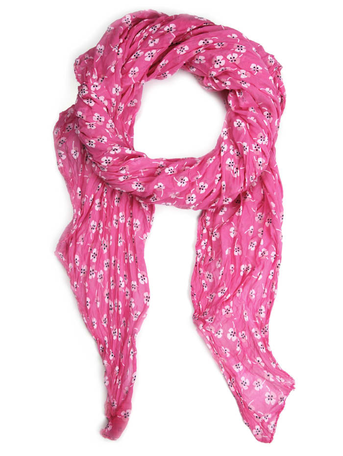 Collezione Alessandro Italienischer Schal Delinda Made in Italy, pink