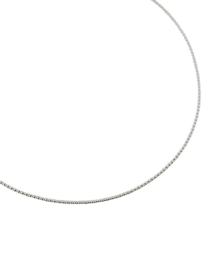 Koreanerkette Silber 925, Silberfarben