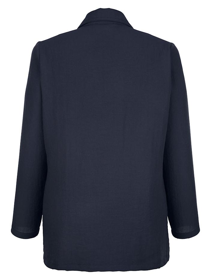 Blusenjacke in sommerleichter Qualität