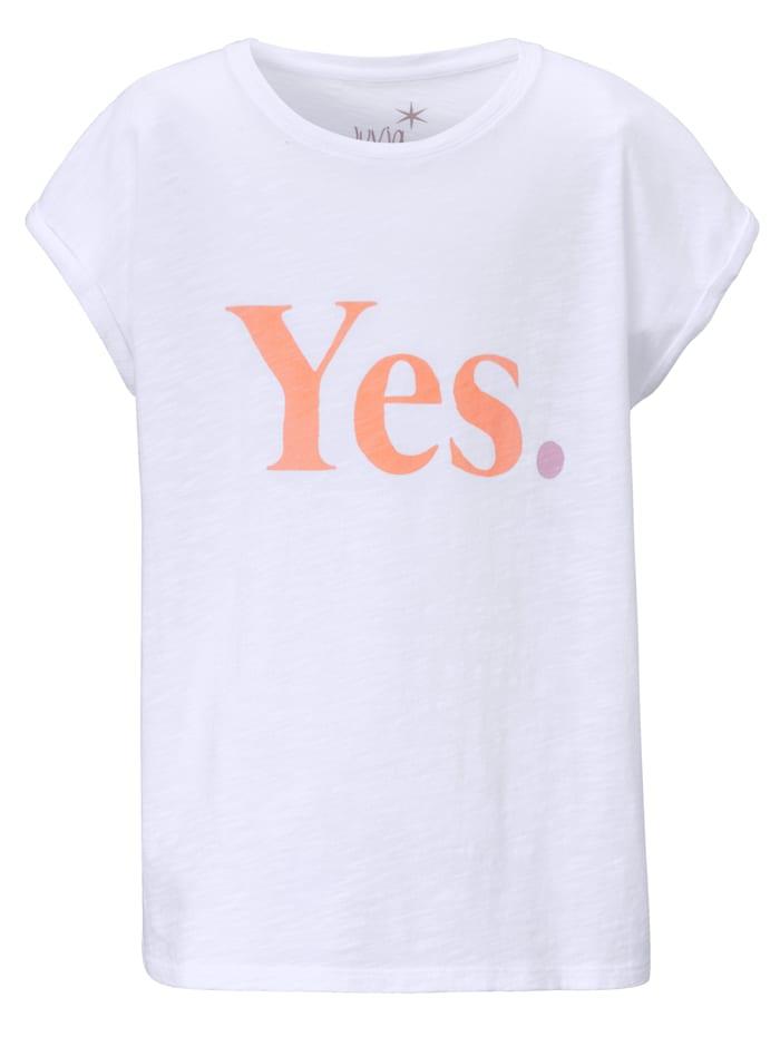 JUVIA T-Shirt Kids, Weiß