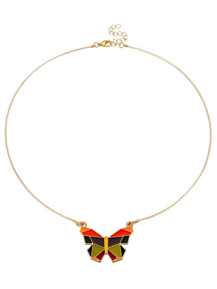 Collier mit Schmetterling
