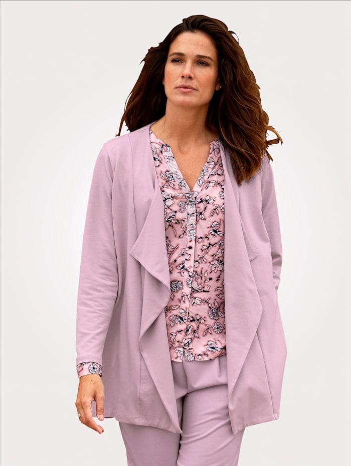 MONA Shirtjacke, Rosé