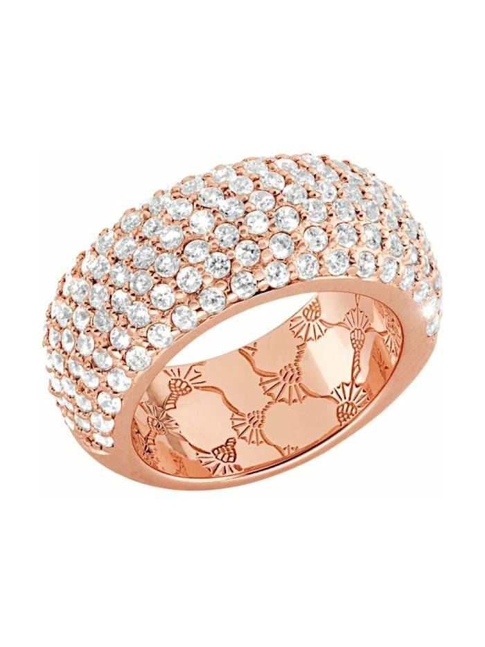 JOOP! Ring für Damen, Sterling Silber 925, Roségold