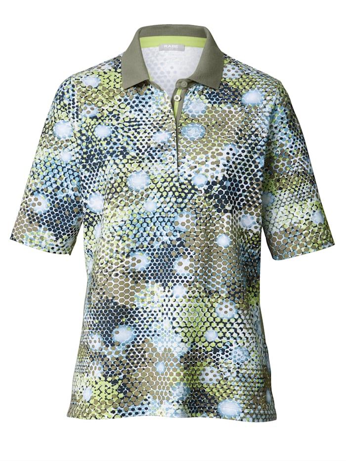 Poloshirt mit grafischem Druck