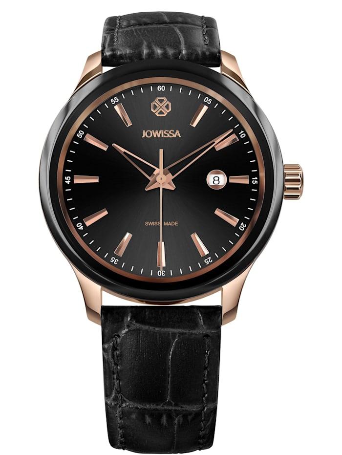 Jowissa Quarzuhr Tiro Swiss Men's Watch, schwarz