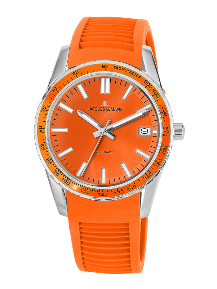 Jacques Lemans Unisexuhr Serie: Liverpool, Kollektion: Sport 1-2060F, Orange