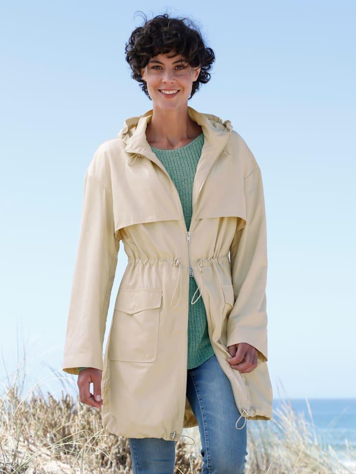 Dress In Pullover in schöner Strickqualität, Salbeigrün