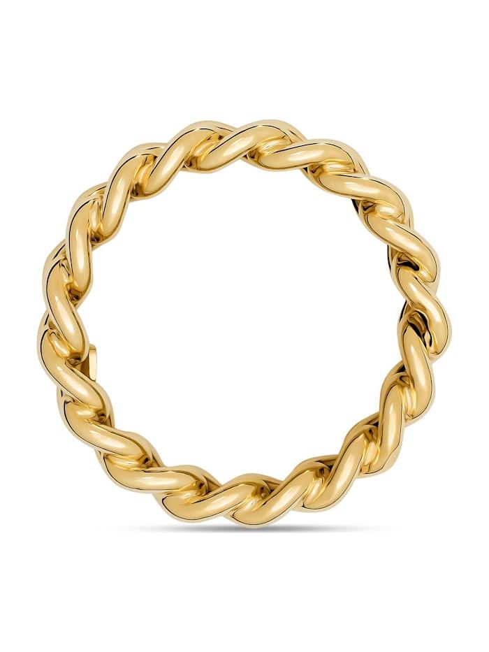 CHRIST Gold Damen-Damenring 375er Gelbgold