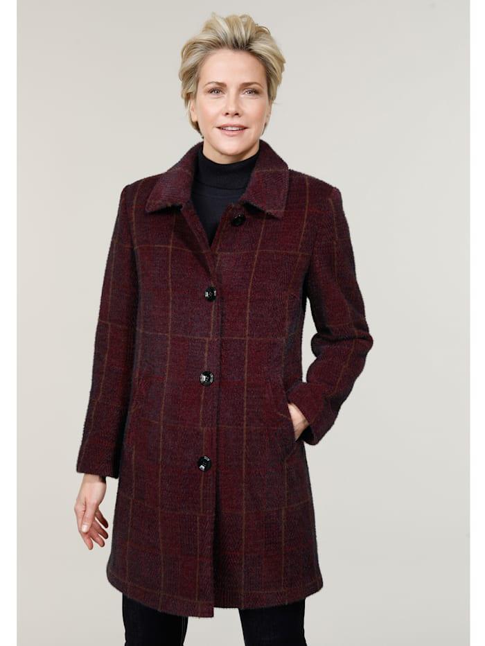 MONA Short coat, Bordeaux/Navy
