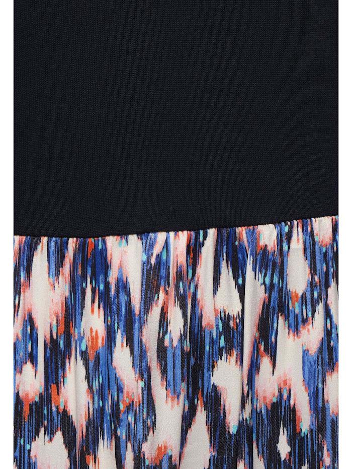 Midi-Kleid mit Ikat Print
