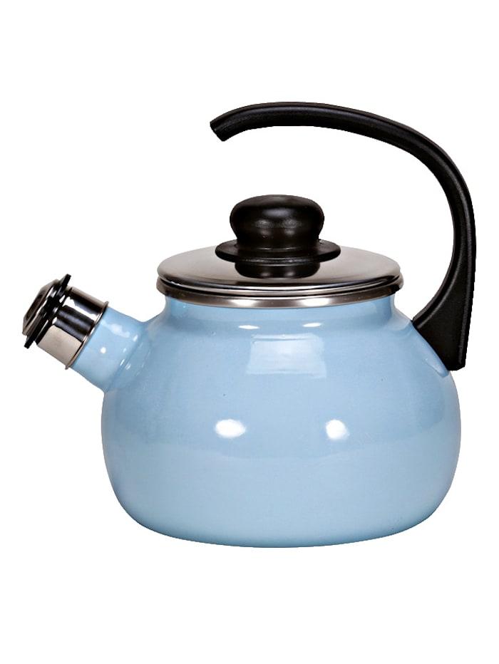 Krüger Fluitketel, blauw/crème Sylt