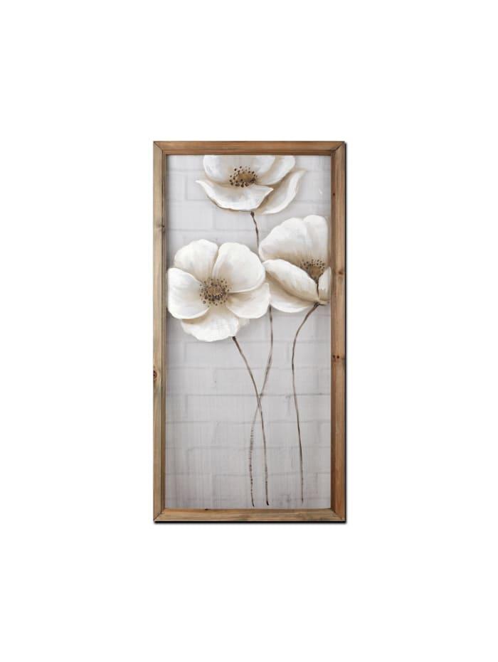 NTK-Collection Wandbild Blüten, Bunt