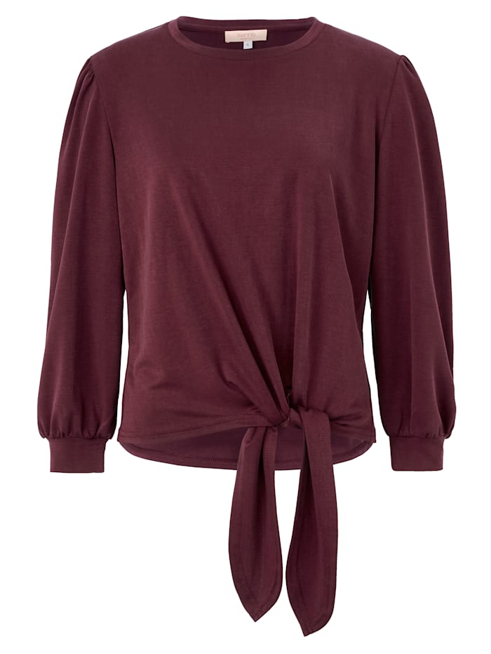 SIENNA Sweatshirt, Bordeaux