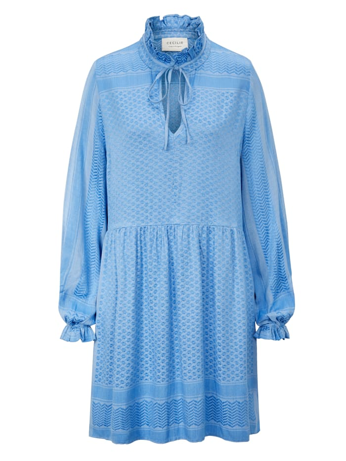 Summery Copenhagen Kleid, Blau