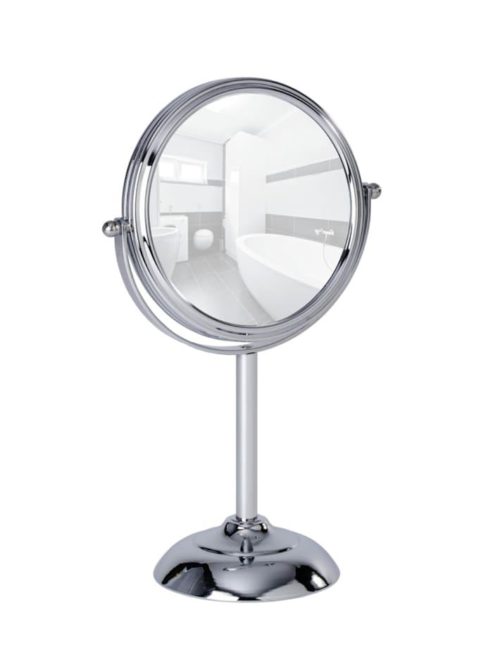 Wenko Kosmetikspiegel Globo, 10-fach Vergrößerung, Chrom
