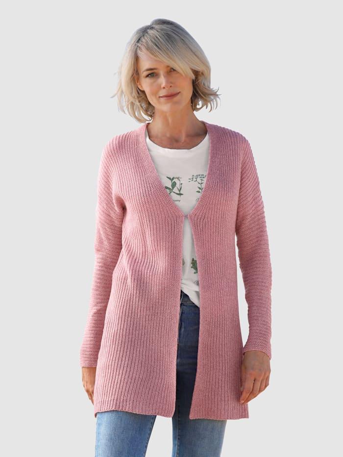 Dress In Strickjacke mit tiefem V-Ausschnitt, Lavendel