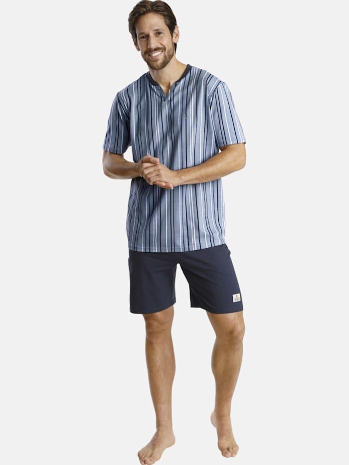Jan Vanderstorm Jan Vanderstorm Kurzer Schlafanzug OLESSON, blau