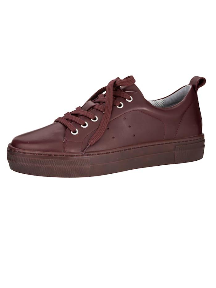 Liva Loop Sneaker in modieuze stijl, Berry