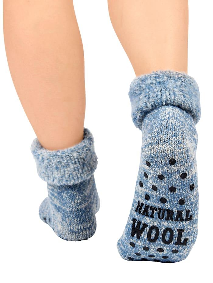 Wollen sokken voor warme voeten