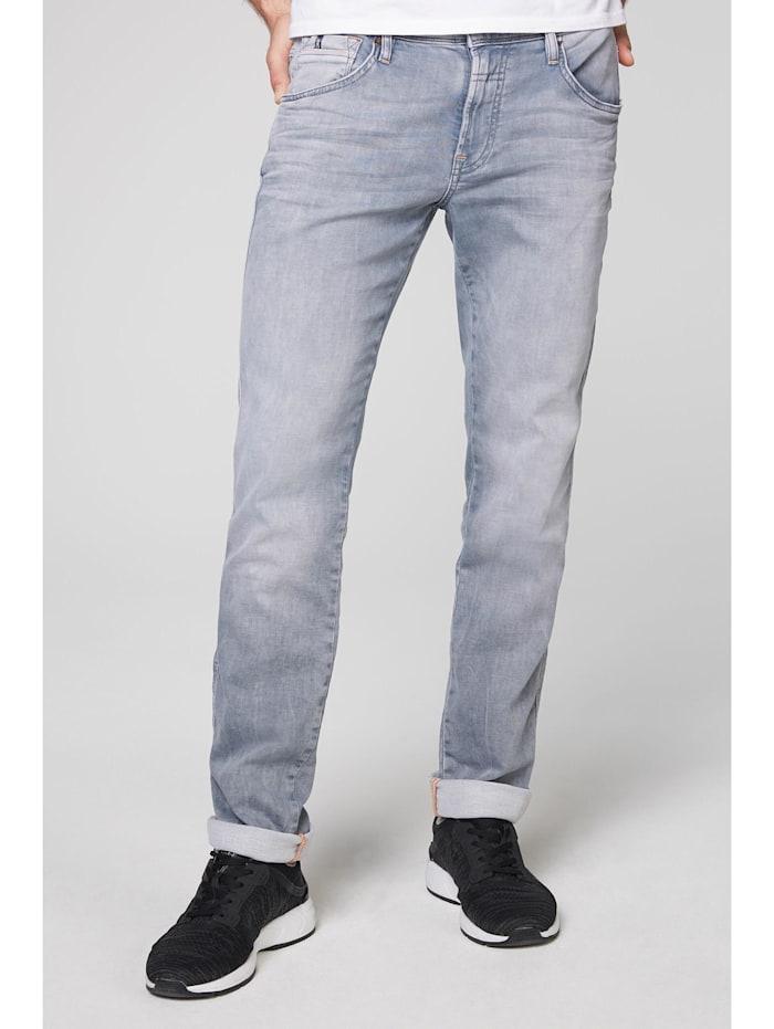 Camp David Jeans DA:VD aus Jogg Denim im Used Look, light grey jogg
