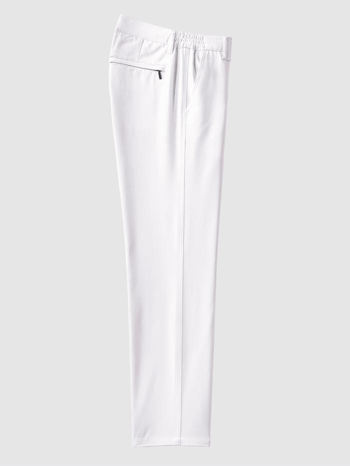 Flatfronthose mit seitlichem Dehnbund