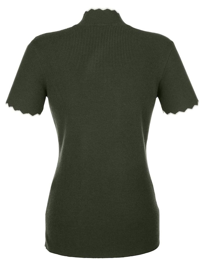 Pullover in Rippstrick-Qualität