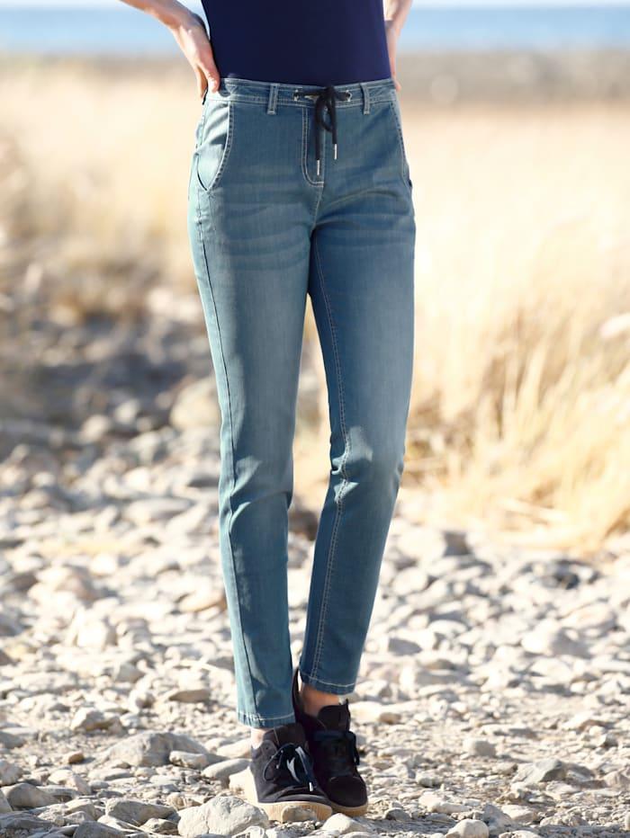 Dress In Jeans Im Boyfriendstil, Blau